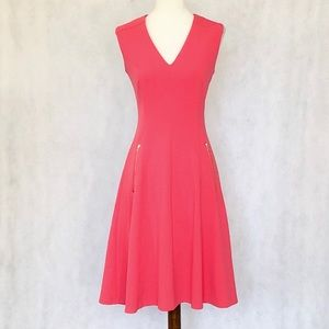 Marc New York Andrew Marc Sleeveless Pink Dress